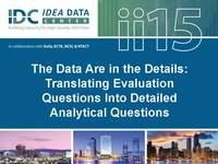The Data Are in the Details: Translating Evaluation Questions Into Detailed Analytical Questions