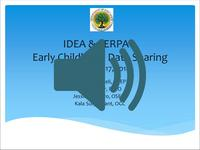 What do IDEA and FERPA tell us about Data Sharing?
